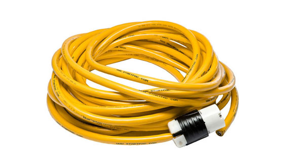 220 VAC Aircraft Grade Extension Cord 25v and 50v