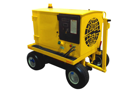 Portable Starting Unit Model Self-Propelled Diesel-Electric Hi-Brd™ 2